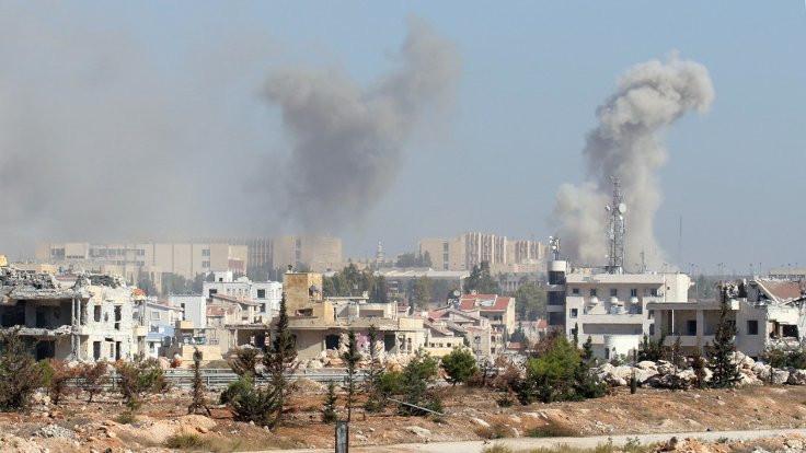 'İsyancılar Halep'te kimyasal kullandı'