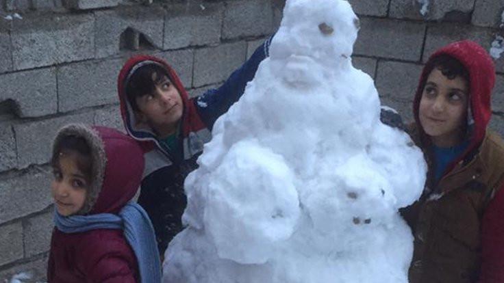 Edirne'de okullara kar tatili geldi