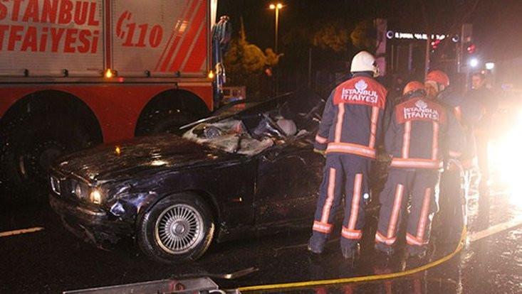 Erdal Tosun'a belediyenin makam şoförü çarpmış