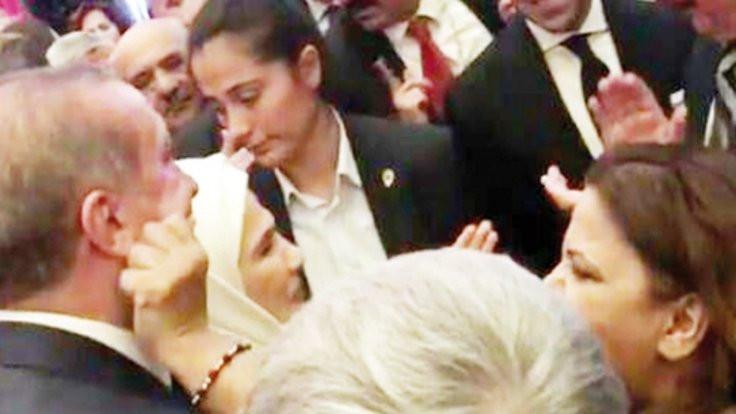Cumhurbaşkanı Erdoğan'dan 'makas' aldı!