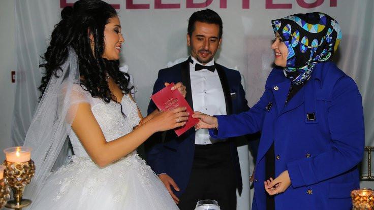 Erdoğan'ın korumaları nikah masasında