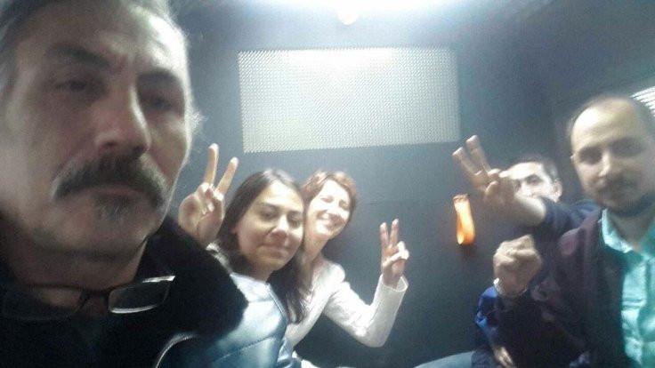 Ankara'daki KHK protestosunda 5 gözaltı