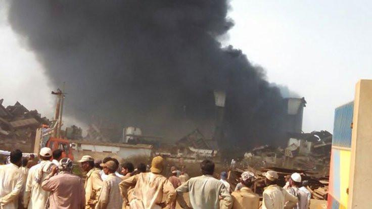 Petrol tankerinde patlama: 14 kişi öldü
