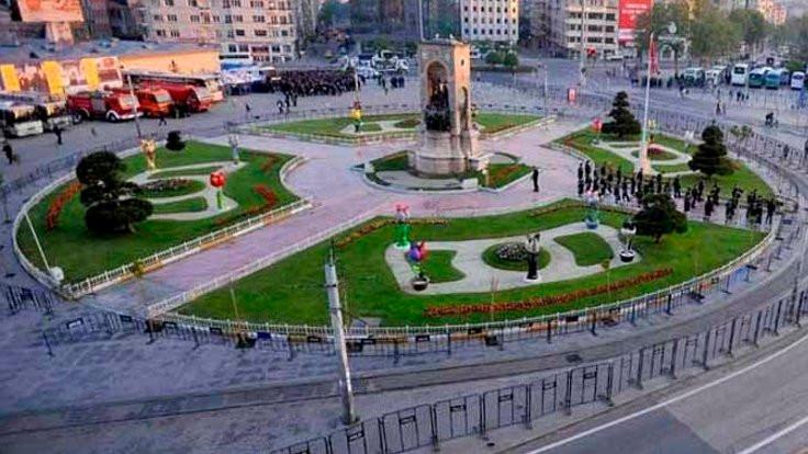 Taksim Gezi Parkı Derneği'nde nöbet değişimi