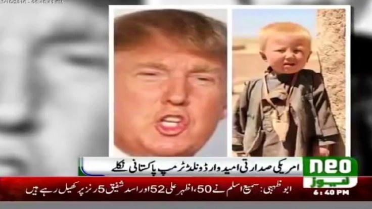 Donald Trump Pakistanlı mı?