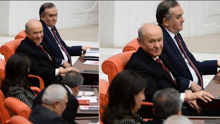 Bahçeli'den HDP'li Önder'e selam