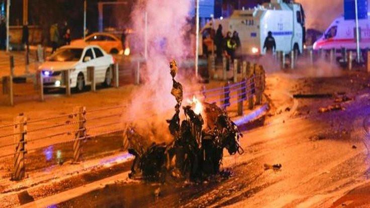 Beşiktaş'taki canlı bombanın kimliği belirlendi