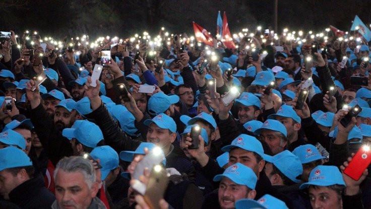 Erdemir işçilerinden toplu sözleşme eylemi