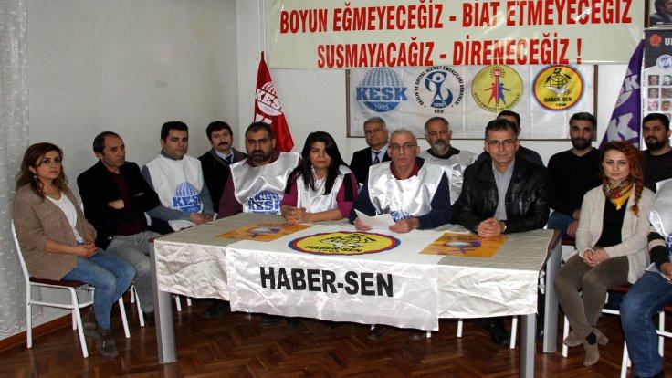 Haber-Sen üyesi PTT çalışanları açığa alındı
