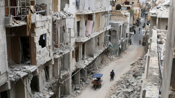 Silahlı gruplardan Halep'te ateşkes çağrısı
