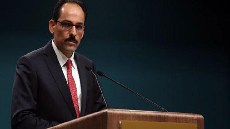 'Suriye rejimiyle temasımız söz konusu değil'