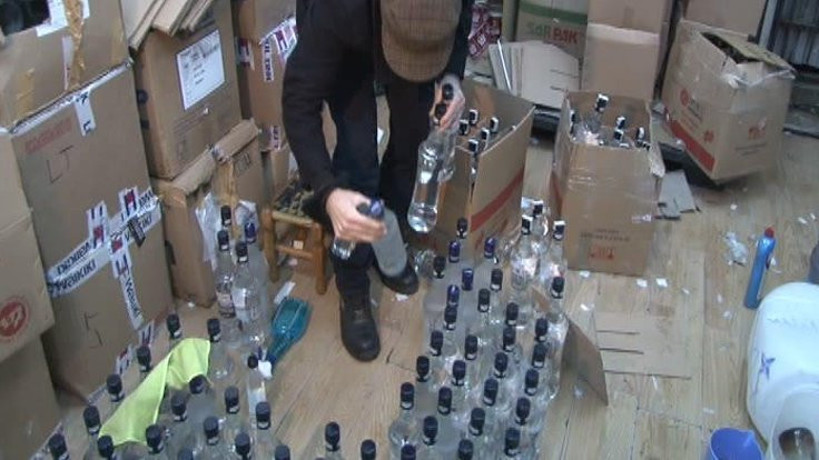 Kaçak içkiye 54 gözaltı