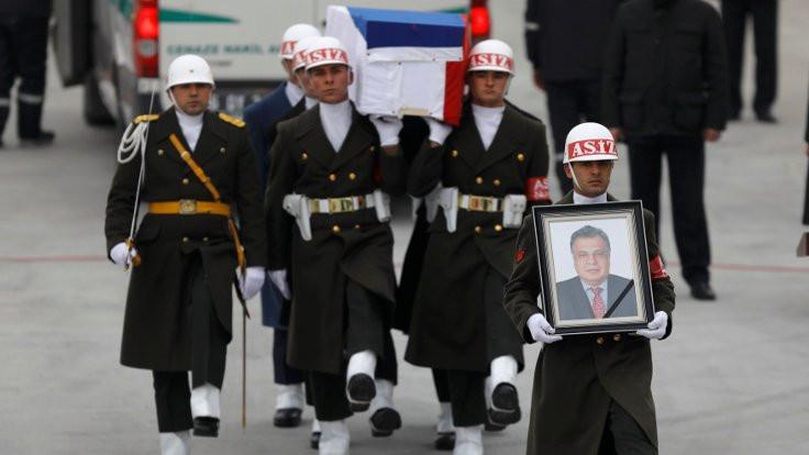 Büyükelçi Karlov için devlet töreni düzenlendi