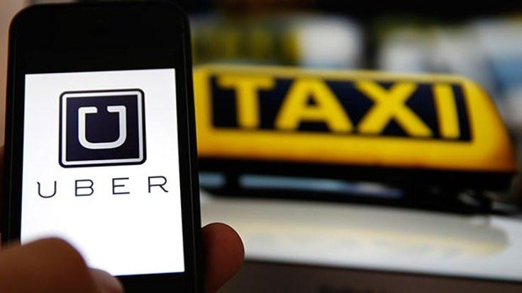 Uber taksiye 'korsan' cezası