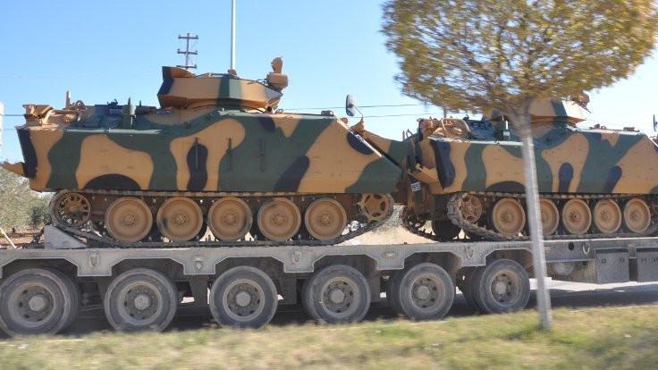 Urfa'dan Suriye'ye zırhlı sevkiyatı
