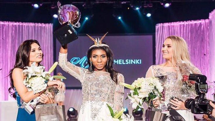 Finlandiya güzeline ırkçı tepki