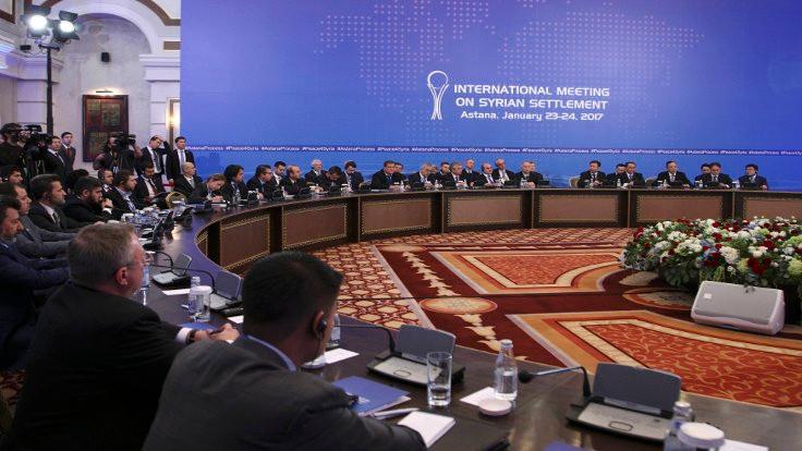 Beş soruda Astana barış süreci