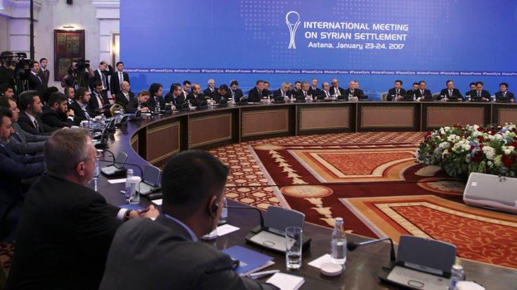 Astana görüşmeleri gergin başladı