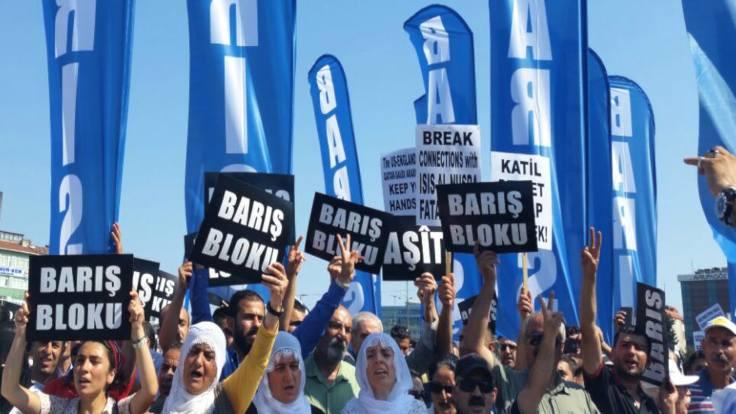İstanbul'da barış mitingi 10 Eylül'de