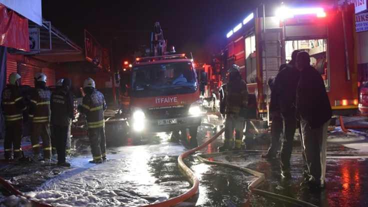 Boyahanede yangın: 1 kişi öldü
