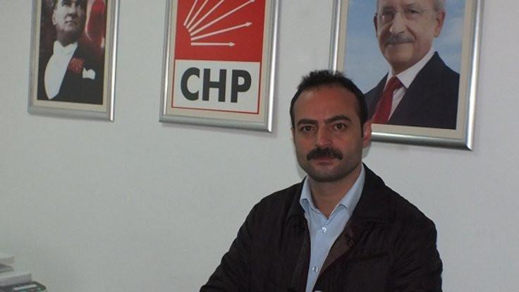 CHP ilçe başkanının aracında şüpheli şahıslar