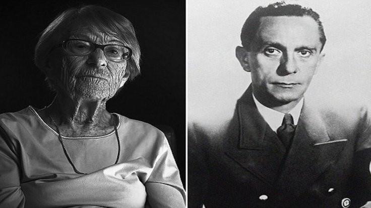 Goebbels'in en yakınındaki isim öldü