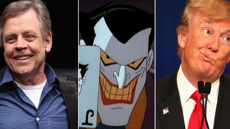 'Joker' Trump'a ses verdi!