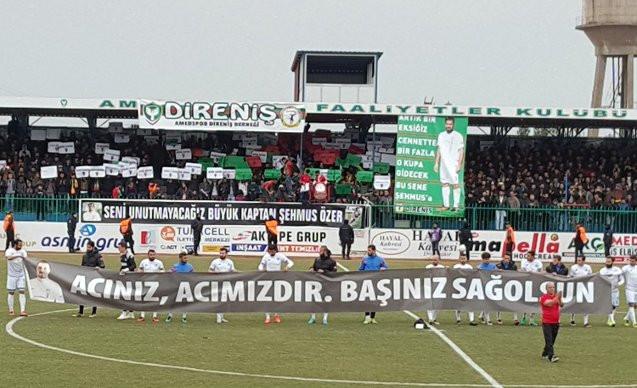 Erzurumspor Amedspor'un acısını paylaştı