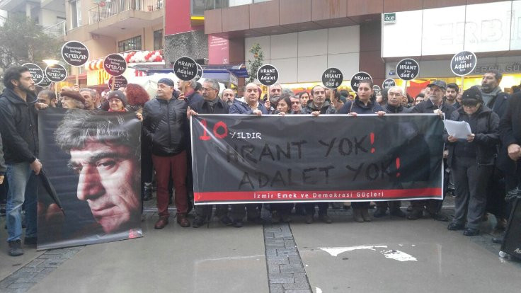 Hrant Dink, İzmir'de anıldı