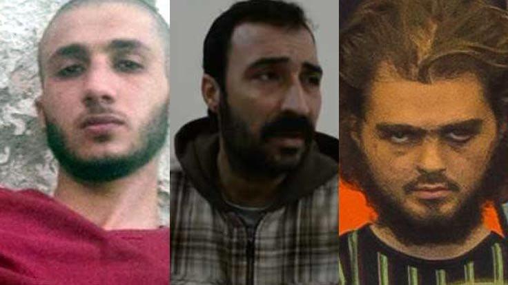 Sağ yakalanan IŞİD'liler