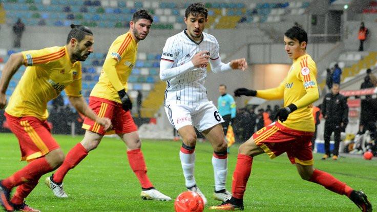 Beşiktaş, Kayserispor'la berabere kaldı