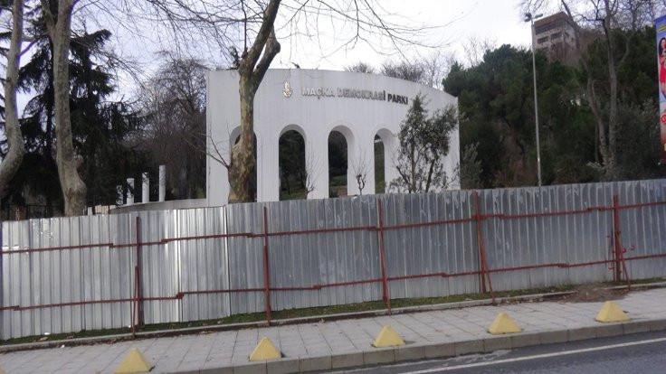 'Maçka Parkı'nın kaybedilmesi söz konusu'