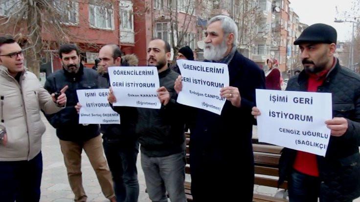 KESK'in eylemine her gün 227 lira ceza