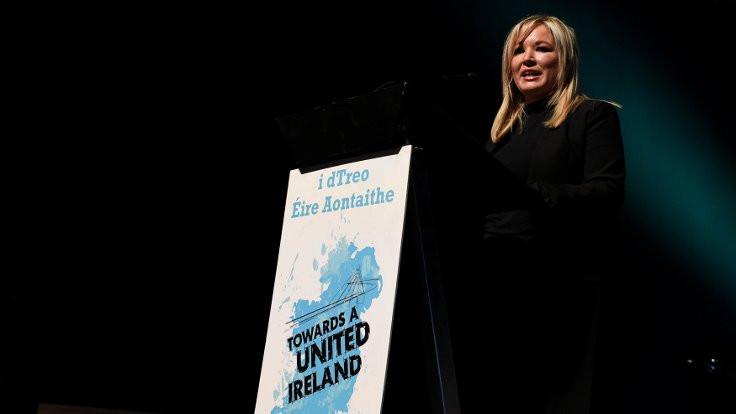 Sinn Feinn'e IRA geçmişi olmayan lider