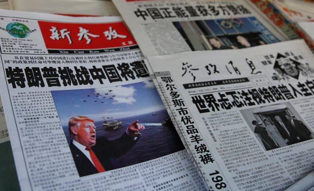 Trump'tan Çin ile ilk temas