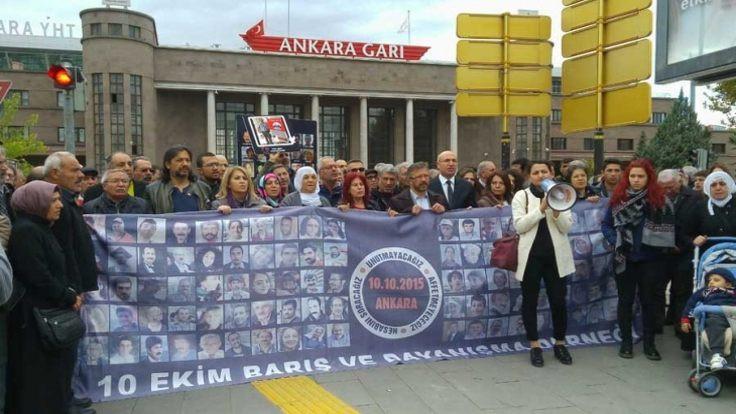 10 Ekim aileleri yarın Ankara Gar'ında