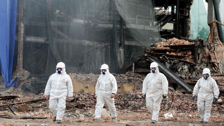 Ankara'da asbest çevreye yayılmış