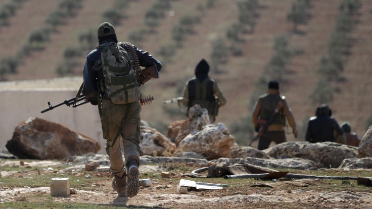 El Bab'da 'ÖSO içi' çatışma