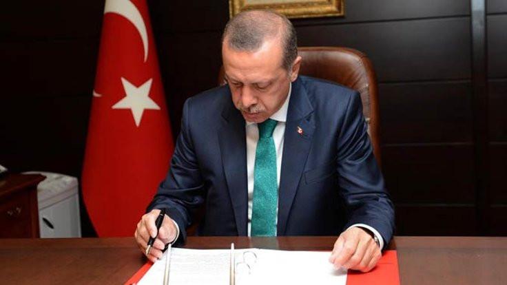 Erdoğan onayladı, tarih belli oldu