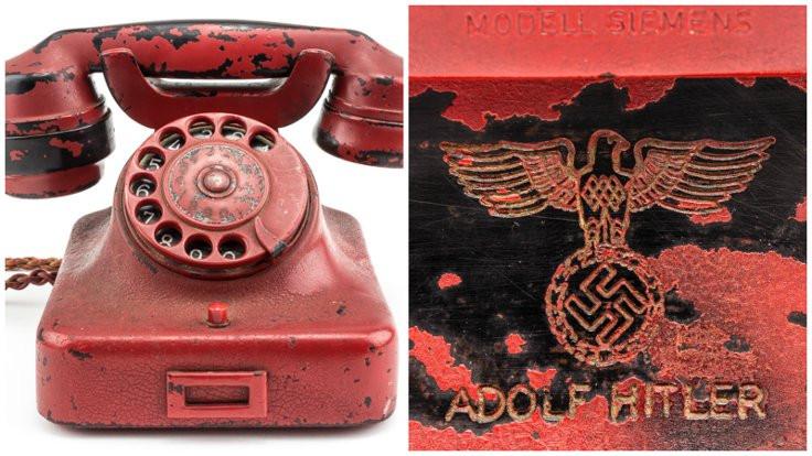 Hitler'in satılan telefonu 'sahte' iddiası