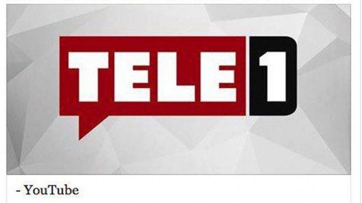 Tele 1 TV'nin Youtube kanalı kapatıldı