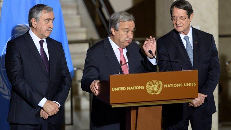 Kıbrıs müzakereleri Mart'ta devam edecek