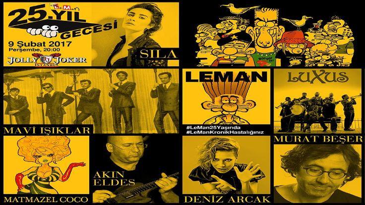 LeMan'ın 25. yıl kutlaması
