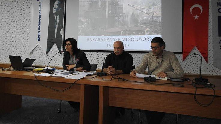 Mimarlar Odası: Ankara halkı kanser soluyor