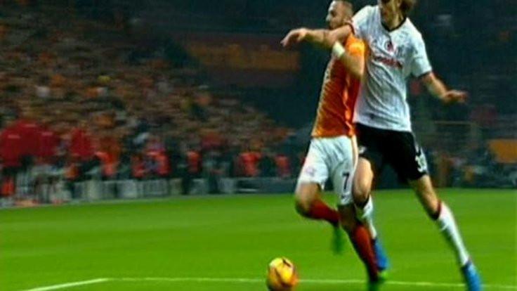 Derbide iptal edilen penaltı krizi