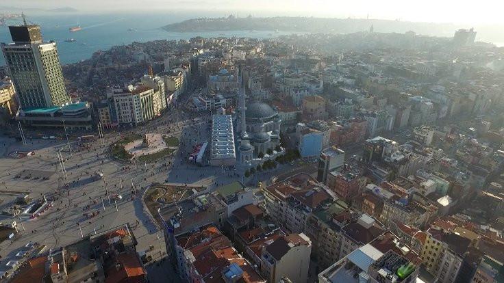Cami bitince Taksim böyle olacak
