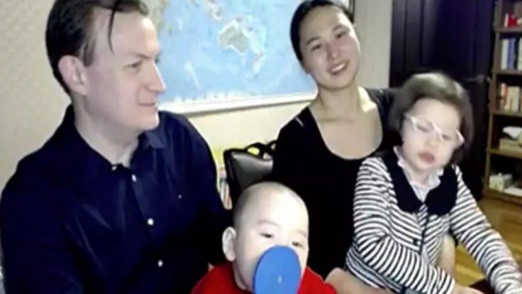 Profesör ve ailesi yeniden BBC'de!