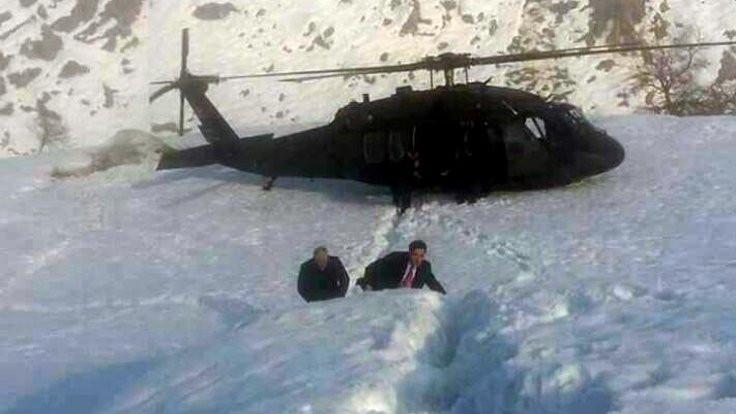 Yıldırım'ın helikopteri havaalanına inemedi