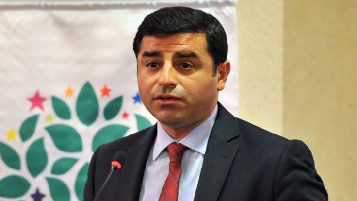 AK Parti ve HDP arasında Demirtaş tartışması