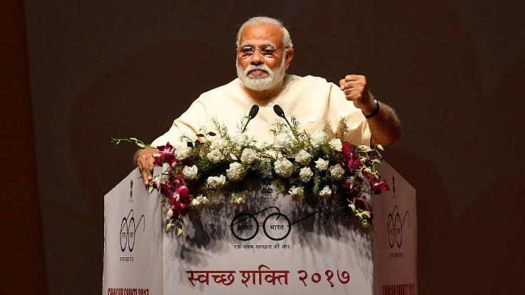 Modi'nin 'Muhteşem Yeni Hindistan'ı